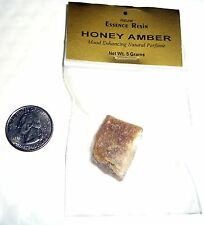 """AWESOME 5 GM HONEY AMBER RESIN""""~Incense~Aromatherapy-VAMPIRES - GNR"""