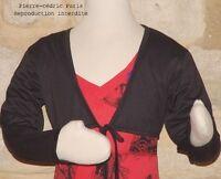 Bolero Vest Children Girls Plain short New Pierre-Cedric all Price Unbeatable