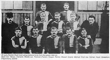 Man Utd (Newton Heath) Foto de Equipo de fútbol temporada 1892-93