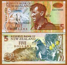 New Zealand, $5, (1992-1997), P-177, scarce in UNC