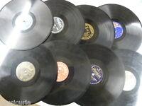AL AZAR Selection BOX OF 8 x 78 rpm Gramófono Records SIN GRADUAR LOTE ,