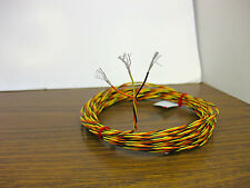 25 feet 24 AWG Silver Plated Wire 3 Twisted Kynar