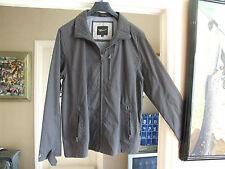 """Magnificent Brand New Paul Berman Mens XL Charcoal Grey Mac Rain-Coat Jacket 46"""""""