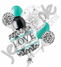 7 pc Love Always & Forever Engagement Married Balloon Bouquet Decoration Wedding