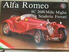 Pocher Alfa Romeo 8c 2600 Mille Miglia Scuderia FERRARI 1:8