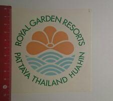 Aufkleber/Sticker: Royal Garden Resorts Pattaya Thailand Huahin (261116109)