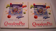 QmodemPro User Guide, Script Guide - Vintage Computer Books - 1994 (CB35)