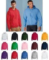 Mens Hoodie Gildan Heavy Blend Adult Hooded Sweatshirt Jumper Top Sweat GD057