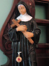 Estate Sale Find: Vintage Saint Rita Reliquary Statue and Relic from Italy