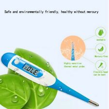 Electronic Digital Oral Thermometer Baby Adult Body Safe Soft US Shipping