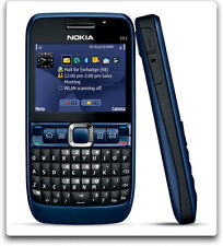 Imported Nokia E63 unlocked Gsm Mobile- Ultra Blue