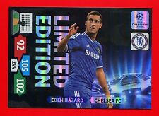 CHAMPIONS LEAGUE 2013-14 Panini - XXL Card Limited Edition - HAZARD - CHELSEA