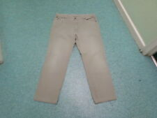 """Lacoste Straight Jeans Waist 38"""" Leg 32"""" Faded Green Mens Jeans"""
