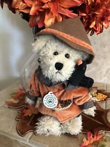 "Boyds Bears EINSTEIN Q. SCAREDYBEAR #917368 2000  10"" Fall/Halloween MWT🎃"