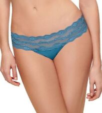 WACOAL b.tempt'd 932182  ~  BLUE ASHES ~ b.adorable BIKINI PANTIES ~ Size LARGE