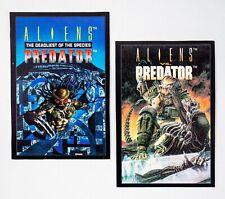 Aliens vs Predator (1993 Dark Horse) Advance Comics Blank Backs Promo Cards