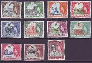 Basutoland 1954 SC 46-56 MH Set