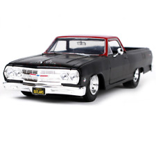Maisto 1:25 1965 Chevrolet El Camino Pick up Diecast Model Car Black