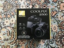 Brand New Nikon Coolpix B500 Digital Camera- 16MP 40x Optical Zoom HD  Black