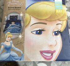 Next Girls Disney Cinderella Single Reversible Bedding Duvet Cover Bed Set Kids