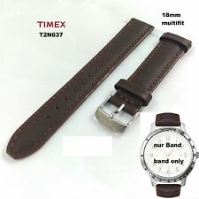 Timex Replacement Band T2N637 Weekender Sport - 18mm SPARE - MULTIFIT - Leather