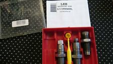 new LEE 6.5 GRENDEL reloading FL 3 Die Set 90557  DIES OPEN MISSING SHELL HOLDER