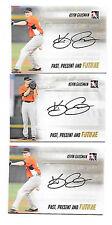 2014 ITG In The Game RC Auto Lot 3 SP Kevin Gausman Orioles Past Present Future