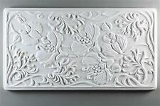 Art Nouveau Texture Tile Mold for Glass - Dt14