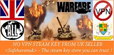 Warfare Steam key NO VPN Region Free UK Seller