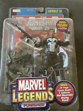 Marvel Legends Series IV The Punisher W/ 32 Page Comic Book NEW