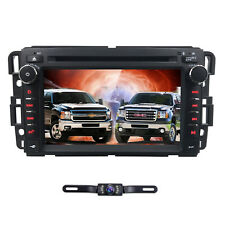 "7"" In Dash Car DVD GPS Radio Navigation For GMC Yukon Sierra Chevrolet Chevy+Cam"