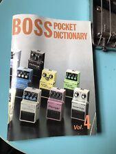 boss pocket dictionary vol 4