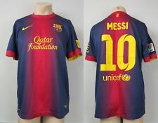 Camiseta Barcelona 2012-13 Hogar fútbol Jersey Messi Nike #10 Talla L
