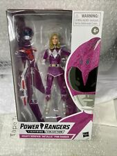 Power Rangers Lightning Collection Mighty Morphin Metallic Armor Pink Ranger