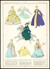 C1920 antica stampa francese FASHION elegantes elegante donna elegante (60)