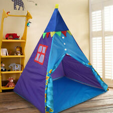 Kids Large Teepee Tent Children Home Outdoor Indoor Pretend Play Sun Rain Shade