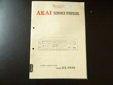 Original Service Manual Schaltplan Akai GX-F44R
