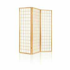 Artiss RD-4019-3P-NT 3 Panel Wooden Room Divider - Natural