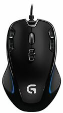 Logitech G300s Optical Gaming Mouse - Optical - Cable - Usb - 2500 Dpi - Scroll