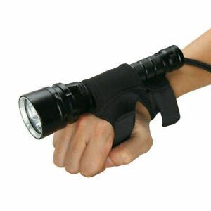 Unterwasser 100m 15000Lm 5x XM-T6 LED Taschenlampe Tauchlampe mit Stofftasche