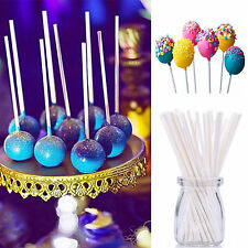 50pcs 15CM Pop Plastic Lollipop Sticks Candy Cake Chocholate Sugar Paste Tools