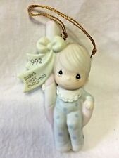 """Precious Moments - """"Baby's First Christmas"""" Ornament - 527483 - 1992"""