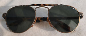 Sting Sonnenbrille Flieger-/Pilotenstyle, Horn-Look, Modell No 195 col 03, TOP!
