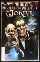 YEAR OF THE VILLAIN THE JOKER #1 PHILIP TAN VARIANT NM 2020 JOHN CARPENTER
