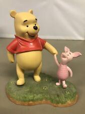 Walt Disney Pooh & Friends Porcelain Figurine Lets Wander and Wonder Together B1