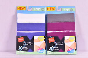 Women's Hanes Constant Comfort X-Temp Bikini Panties 3 pack  CHOOSE SIZE & COLOR