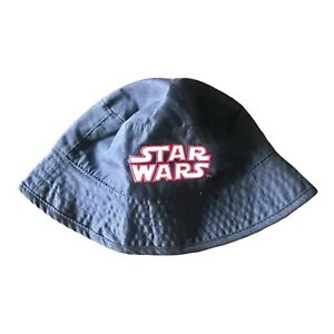 Star Wars Bucket Hat Boys Reversible Graphic Black Stormtroopers 2-Sides New