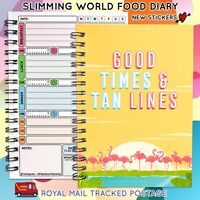 SLIMMING WORLD COMPATIBLE Planner, DIET, Diary,Easy, Notebook, Book,Full colour