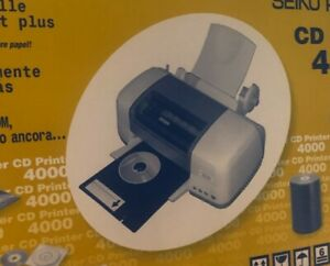SEIKO CD PRINTER 4000 InkJet7-Farben Drucker CD / DVD /Blu-RayRohlinge Druck