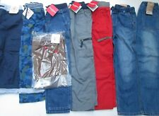 ❤ HANNA ANDERSSON boys pants jeans 120 130 New lined cargo camo 6 7 NWT FREESHIP